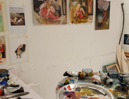 In the Studio Today